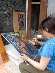 Art Hideaways holiday at Kintamani, Bali Nov 2012