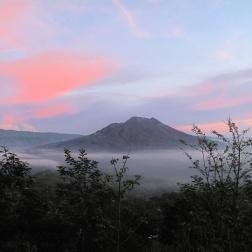 Volcano, mount Batur