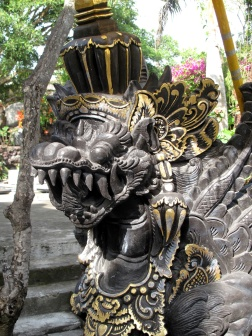 Carving by Temple entrance