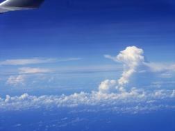 Beautiful billowing clouds !