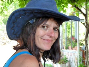 My dear sister Tania, May 2012, on holiday in Turkey .