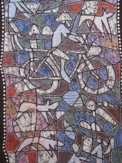 Batik by Mr Robimim.