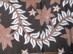 Batik similar to that which Mufidah is dyeing.