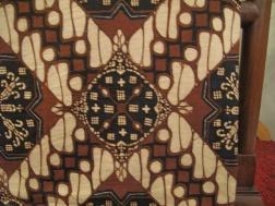 Traditional batik design worn in Yogyakarta