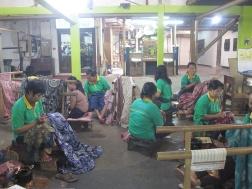 Women in factory work shop.
