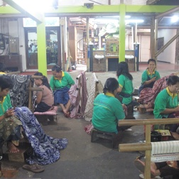 Women in factory work shop.
