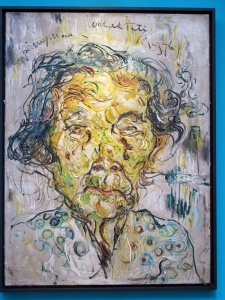 Affandi self portrait