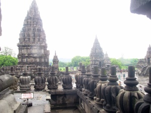Up on the Main Temple, Prambanan