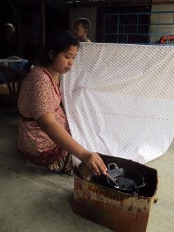 Canting in Giriloyo batik Village.