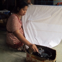 Canting in Giriloyo batik Village.