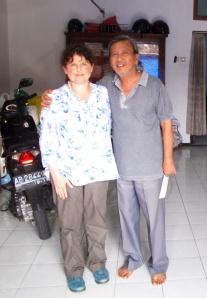 Me and mr Trisno.
