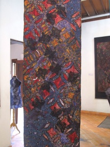 Double sided batik with embroidery by Agus and Nia.