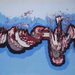 A batik by Slamet Riyanto.