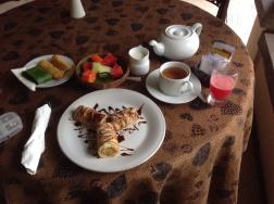 My breakfast at Rumah Mertua !