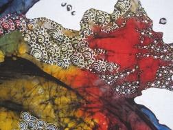 Detail of Batik by Tatang Elmy Wibowo .