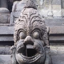 Borobudur Gargoyle .