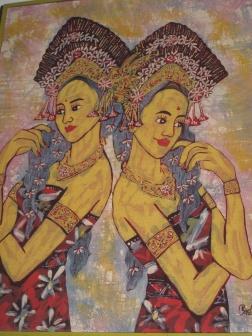 Batik by Mr Robimin.