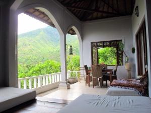 My own terrace at Baliku Amed.