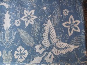Mufidah's fine Tulis batik.