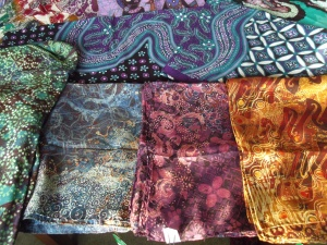 Batiks by Joko, Agus Ismoyo and Nia Fliam.