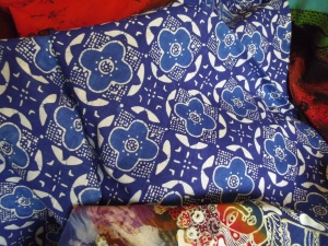 Batik from Raradjonggrang batik workshop.