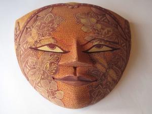 Batik Mask.