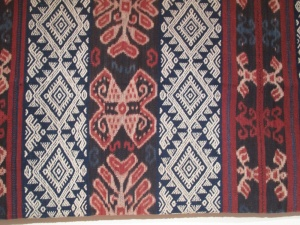 Ikat weaving from Timor.