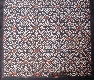 Sample of Nitik design Rambutan.