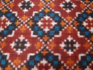 Detail of a Patola pattern that would have influenced Nitik design