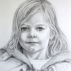 Pencil drawing by Marina Elphick