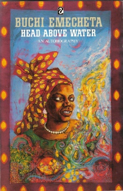 Head above Water by Buchi Emecheta, book cover by Marina Elphick
