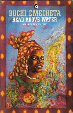 Head above Water by Buchi Emecheta, book cover by Marina Elphick