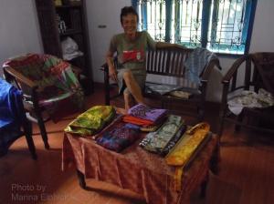 Tatang at his gallery, Leksa Ganesha