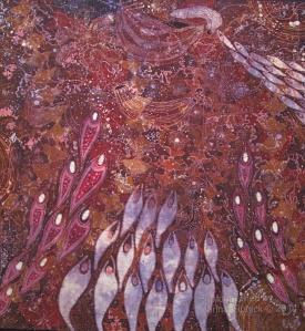Batik by Agus Ismoyo and Nia Fliam