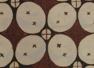 The simple Kawung motif.