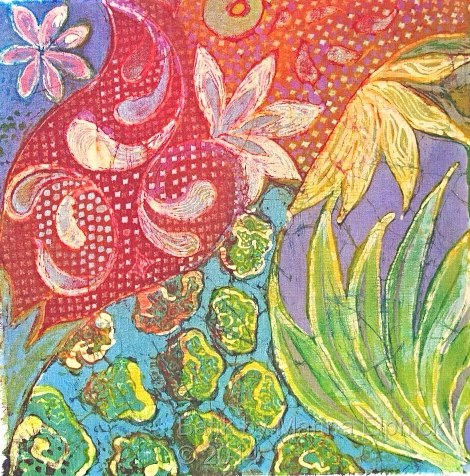 Six Batik Art Sketches