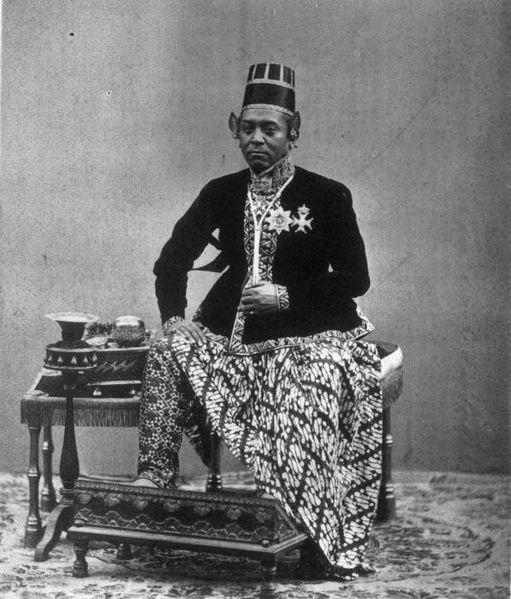 Parang Rusak worn by a royal Sultan.