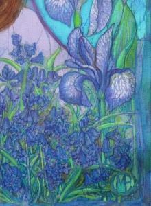 Batik by Marina Elphick, Uk artist specialising in batik art.