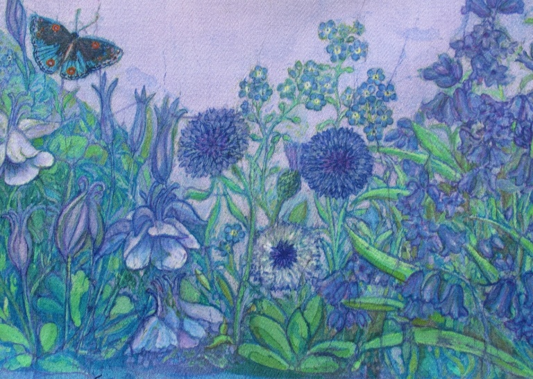 Batik by Marina Elphick, Uk artist specialising in batik art.