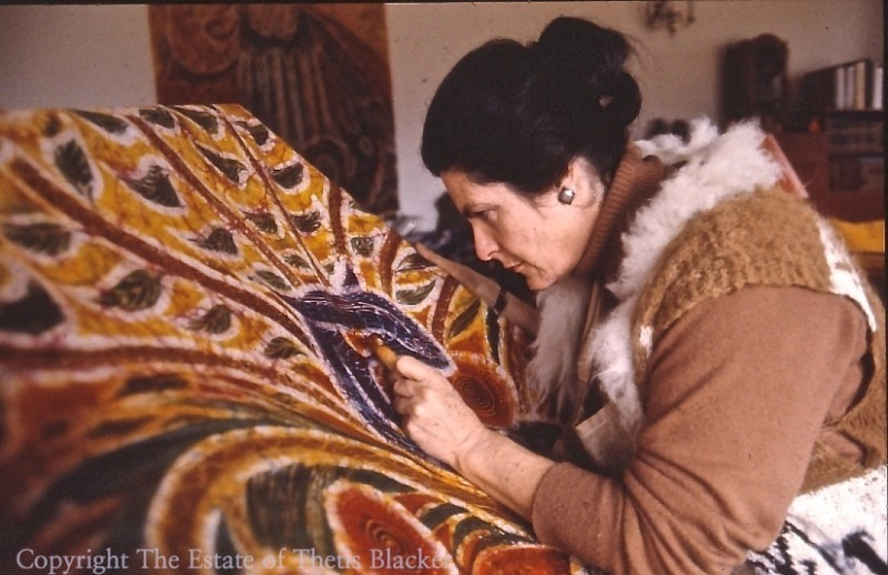 Thetis Blacker, UK Batik artist and fellow of The Temenos Academy