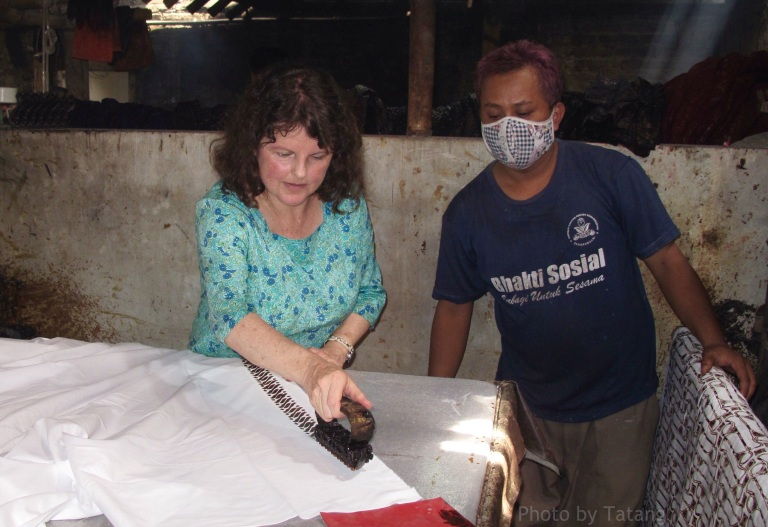 Inspirational Batik travels by Marina Elphick, on The Batik Route.