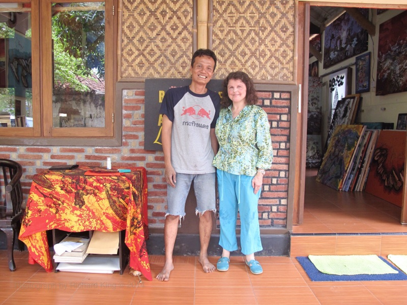Batik travel adventures, by Marina on the Batik Route.
