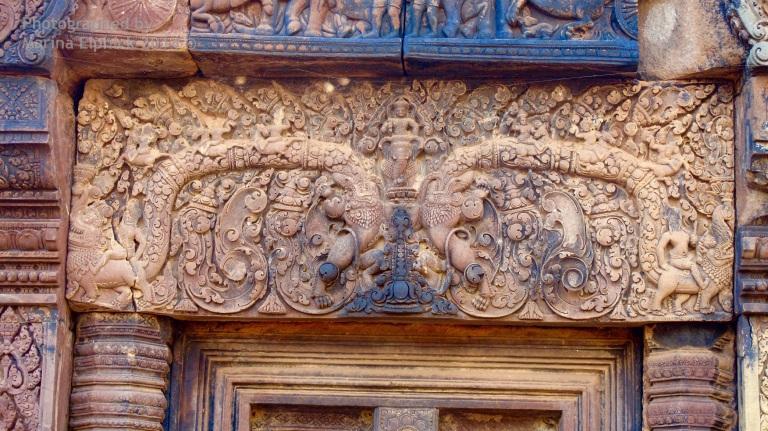Marina's inspirational travel adventure at Banteay Srey Temple