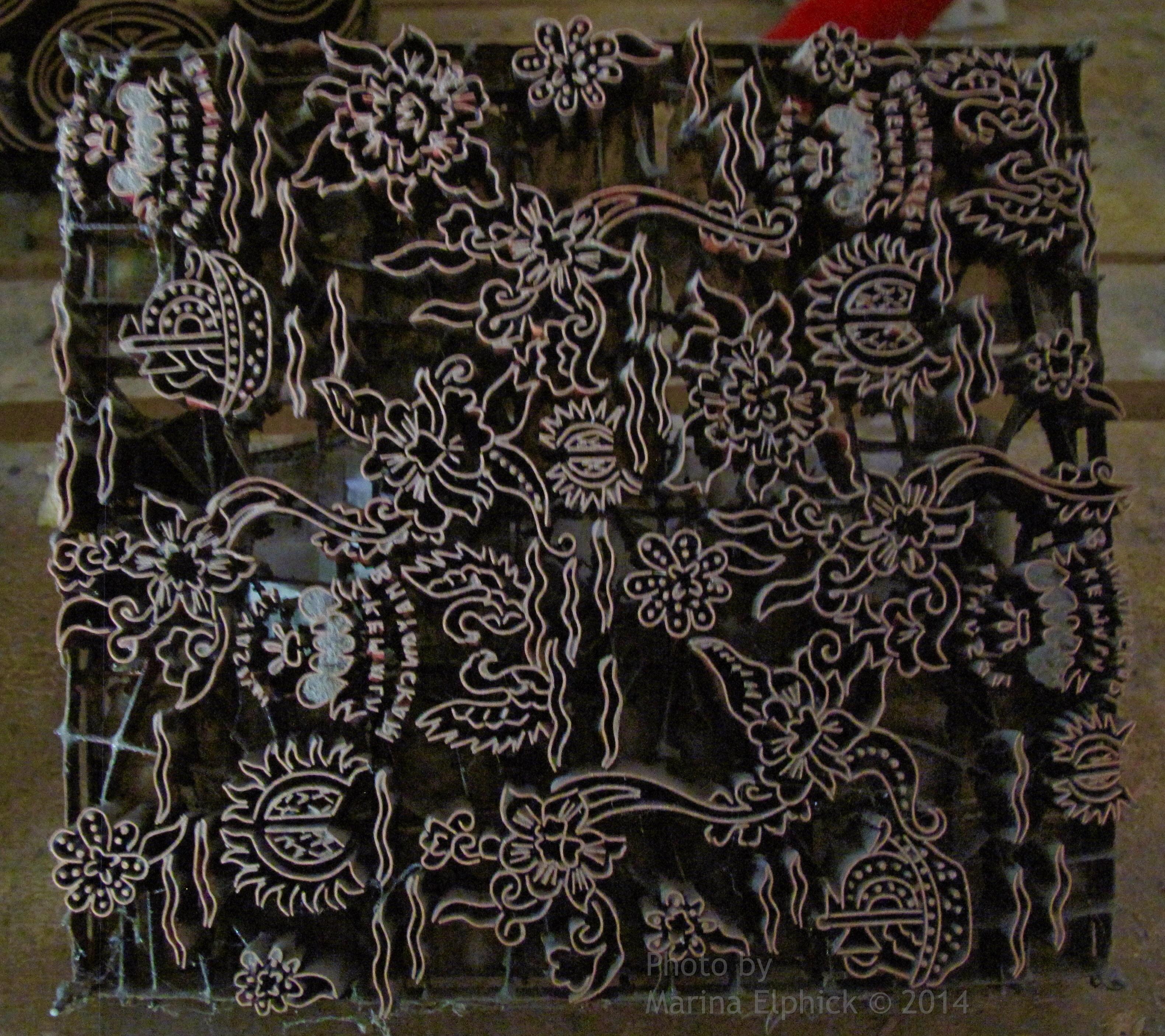 Cap Batik And Cap Making