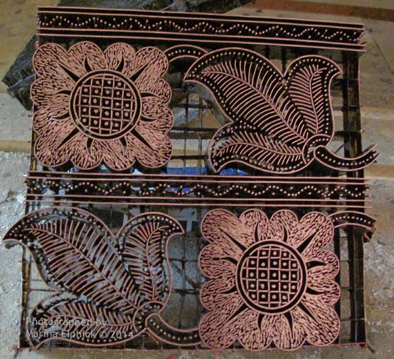 Creative batik travels by Marina on the Batik Route.
