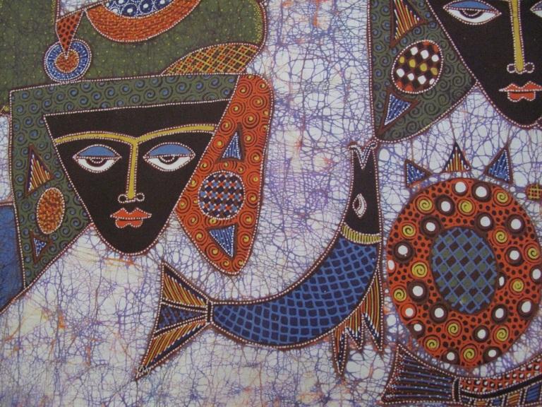 Contemporary batik by Joko.
