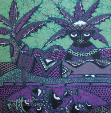 Contemporary batik by Joko.