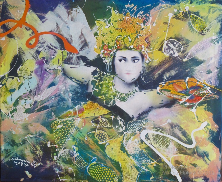 Contemporary batik by Widayana Koeswadji.
