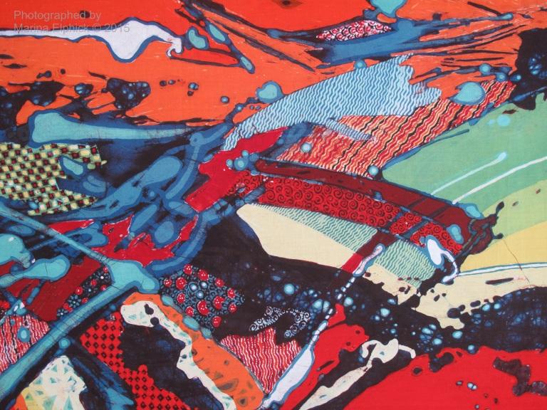 Contemporary batik by Joko Koeswadji.