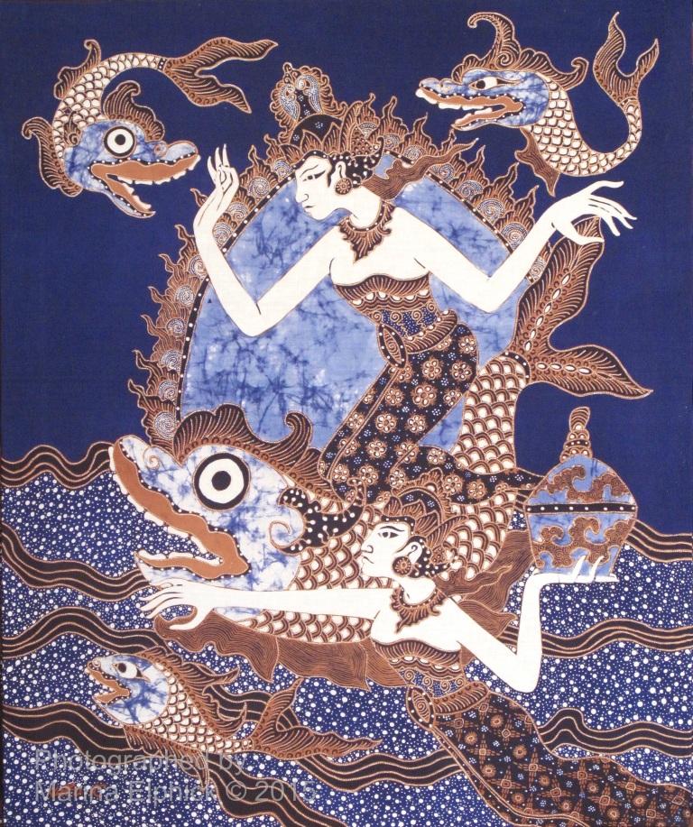 "Contemporary ""Traditional "" batik by Joko Koeswadji."